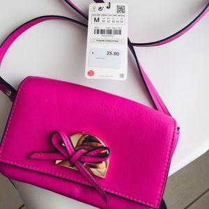 Zara Purple Mini Purse